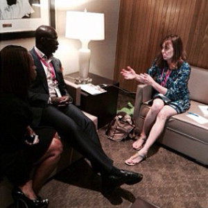 Interviewing Van Moody at California Women's Conference 2014